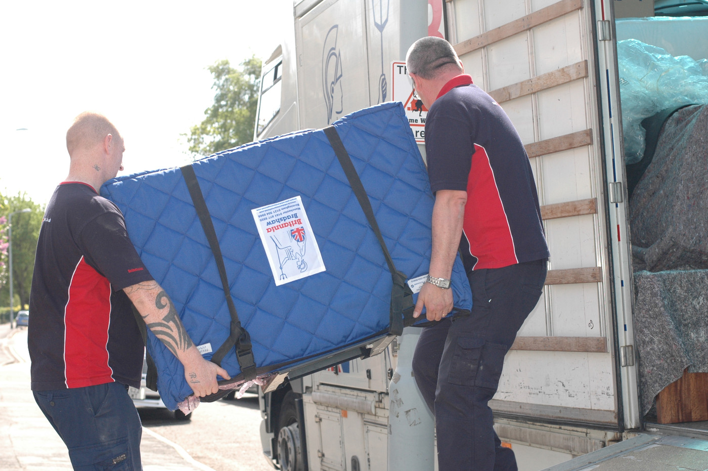 Britannia Bradshaw International Removals & Storage Removals in Burton-on-Trent