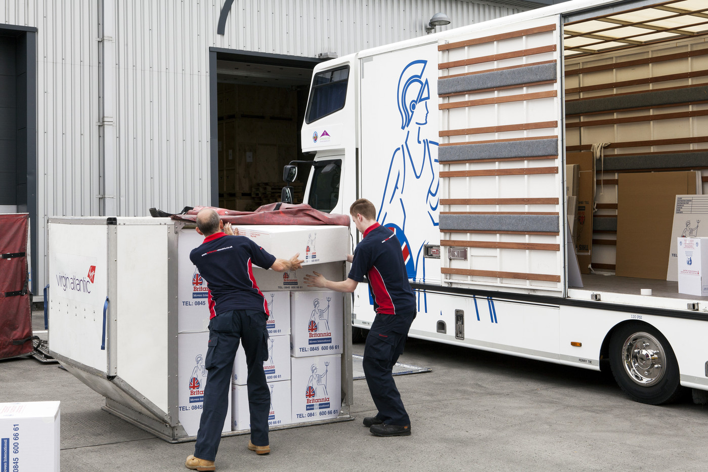 Bradshaw Moving Services International Removals by Sea